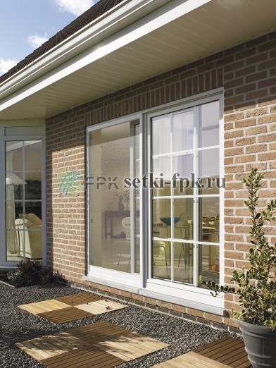 раздвижные москитные сетки на дверь